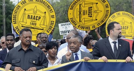 Trayvon Martin: With call for sanctions, is Al Sharpton crossing a line?
